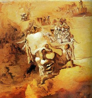 Картины Сальвадора Дали (1931 - 1940) - Великий параноик  (1936)