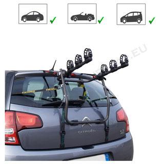 Hornet Fahrradträger für Auto ohne AHK