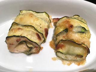 Zucchini-Rollen