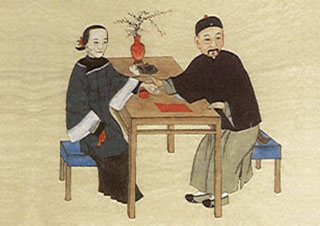 Prise traditionnelle des pouls chinois