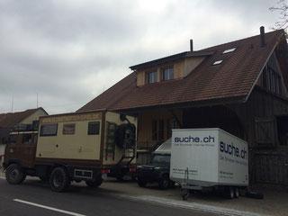 Einkaufstour in der Schweiz beendet. Ist fast wie bei Ikea. Man muss immer etwas kaufen