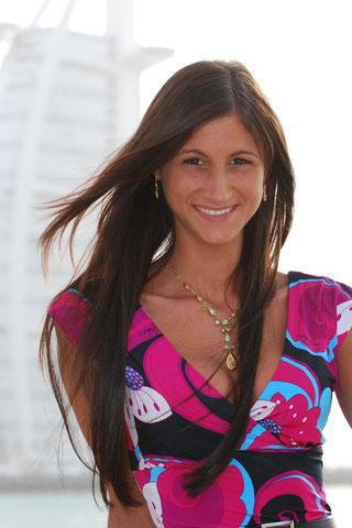 Daniela Arkenberg 2009 in Dubai