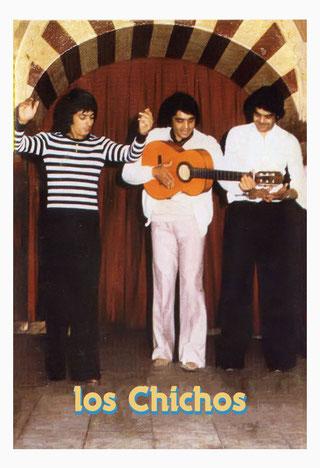 Los Chichos de Jarana en el Tablao Tano  Fuengirola  ( 1978)