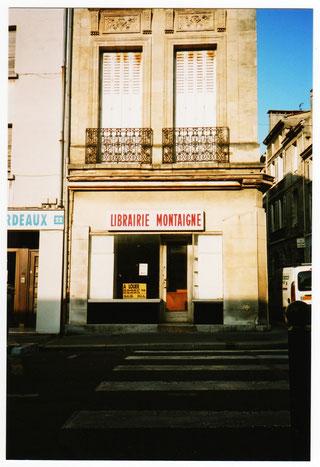 La librairie Montaigne en 2000