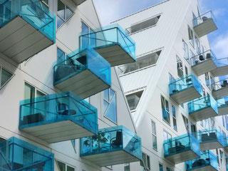 """Der """"Eisberg"""", moderne Architektur in Aarhus Ost (Foto von Sprichbeidl auf Pixaby"""""""