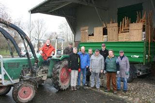 v. links: Herbert Henn, Thorsten Walks, Uta Eckhoff, Harro Eckhoff, Fritz Schmidt, Hartmut Sasse, Tobias Baumgarten, Manfred Treuel, Ewald Lemke