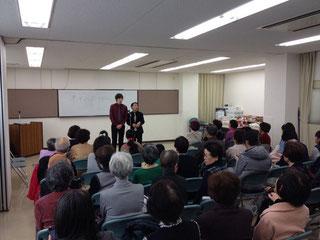 名古屋お笑い芸人 ファニーチャップ 東山コミュニティセンターで漫才