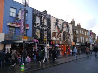 Teil des Camden Market