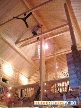 Blockhaus - Wohnblockhaus - Wartung - Holzhaus selber bauen - Bausatz - Winterfeste Holzhäuser - Blockbohlenhäuser zum Wohnen  - Wartung -  Pflege - Service - Blockhausbauer