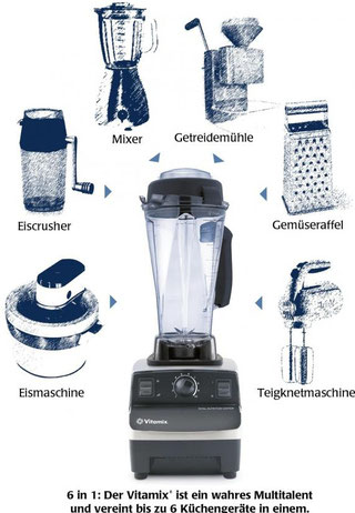 Der Vitamix TNC 5200 - Das 6  in 1 Multitalent