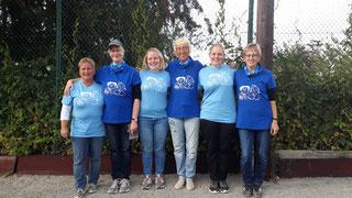 Sechsmal Wiedensahl in blau bei der LM in Osnabrück