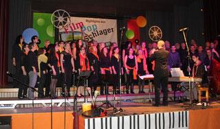 Der Gesangverein Freundschaft Harmonie Oberderdingen und Swingin' Gondelsheim beim Chorfestival der Stadt Bretten