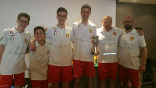 Il Messina Table Soccer 4° classificato