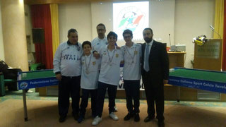 Il Messina Juniores secondo classificato
