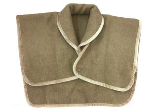 キャメル毛布の肩あて