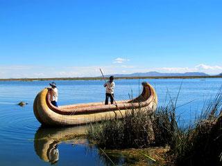 der Titicaca-See .....