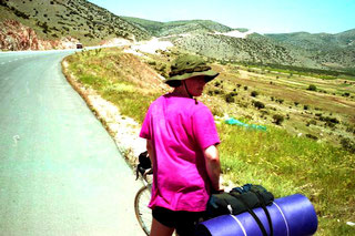 12 km lang war die Bergstrasse hinauf zum Hochplateau des Olymps