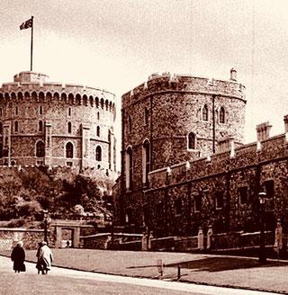 Sonntags-Ausflug zum Winsor Castle hinüber