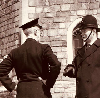 die Polizei bzw. die Constablers halfen mir immer und überall