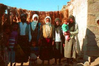die Kurden-Mädchen liessen sich gern photographieren