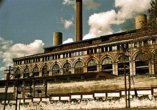 historisches Kraftwerk mitten in Havanna