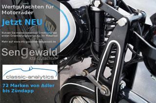 Oldtimer Motorrad - Wertanalyse