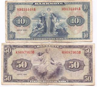 Währungsreform 1948. Mein Geburtsjahr.