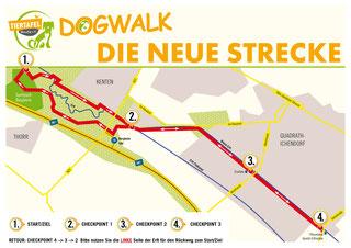 DogWalk 2016 - die Strecke