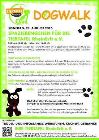 DogWalk 2016 - das Plakat