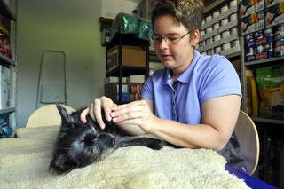 Tierphysiotherapeutin Anita beendet Ehrenamt