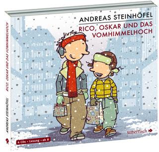 (c) Cover: Carlsen Verlag, Zeichnung: Peter Schössow Andreas Steinhöfel Rico, Oskar und das Vomhimmelhoch Rezension Leseträumchen Kinderbuch Hörbuch