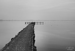 JETTY INTO THE ABYSS - Location: Dümmer Lake, Lower Saxony, Germany