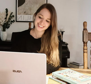 Sonja Krummenacher von Zerowaste Zentralschweiz bei der Arbeit