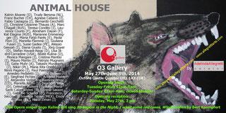 """Einladung zur Ausstellung """"Animal House"""""""