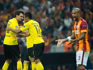 Endlich ein Erfolgserlebnis für den BVB - Istanbul hatte bei der Frustbewältigung der Klopp-Truppe keine Chance. Foto: Bernd Thissen