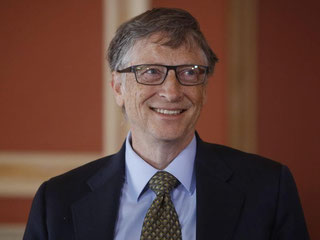 Die Konkurrenz für Bill Gates wächst - vor allem in CHina: Insgesamt zählte «Forbes» 1826 Milliardäre nach 1645 im Vorjahr. Foto: Cole Burston/Archiv