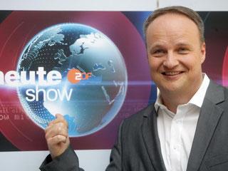 "Oliver Welke ist Moderator der ""heute-show"". Foto: Rolf Vennenbernd"