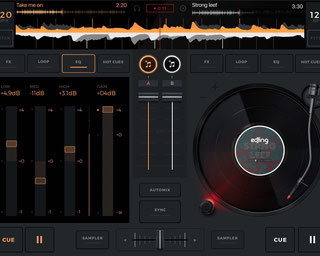 Song Mixer App EDJING for Android, Iphone and Ipad