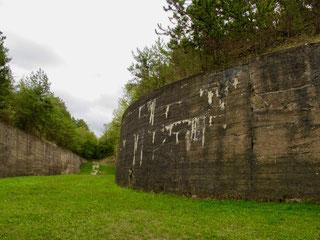 die Festung wurde nur einmal erfolglos angegriffen