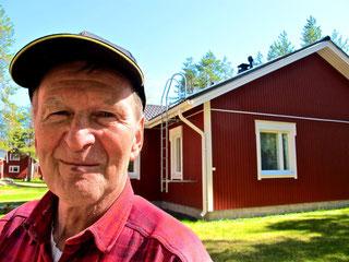 Sven hat sich hier im Ruhestand zurückgezogen