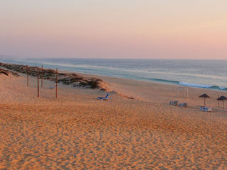 Abendstimmung am Atlantikstrand von Comporta