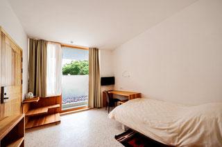 Hotel Gracanica Pristina / Prishtina Kosovo standard single room
