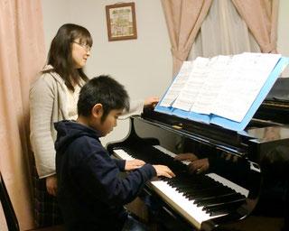 ピアノコースの様子