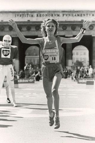 Carina als Siegerin des VCM 1987 (Foto: VCM-Archiv)