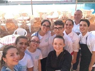 staff della pasticceria di massa ad Ischia
