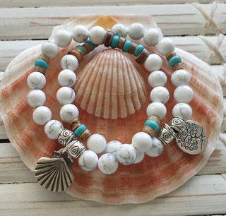 gemstone crystal charm bracelets handmade noosa