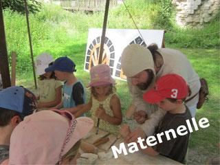 chateau eaucourt visite journée pédagogique écoles maternelles Somme Picardie