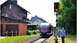 Wie derzeit nur bei Sonderfahrten soll Breinig in ein bis zwei Jahren regelmäßig durch die Euregiobahn angebunden werden. Foto: R. Keller