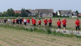 Benefiz-Lauf in Ichenheim 2015