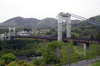 秦野戸川公園 風の吊り橋